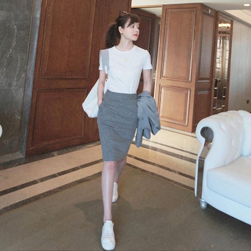 Chân váy bút chì trên taobao