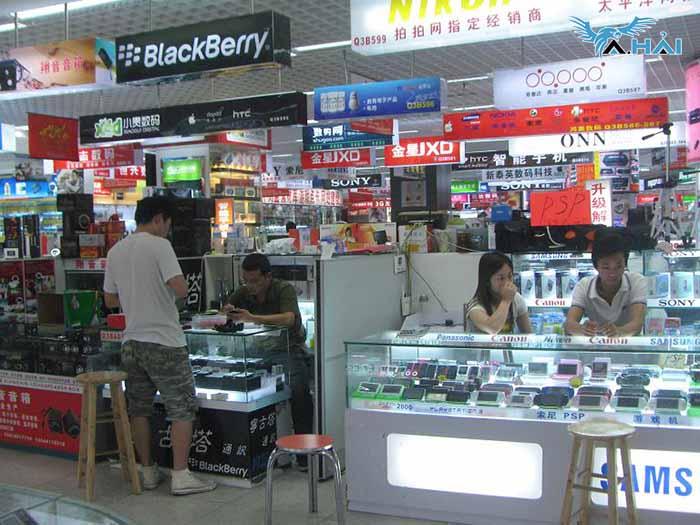 chợ bán buôn phụ kiện điện thoại quảng châu