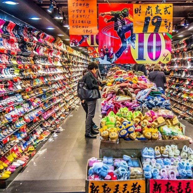 chợ buôn giày dép quảng châu nổi tiếng ở trung quốc