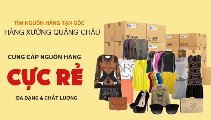 đặt hàng túi xách Quảng Châu