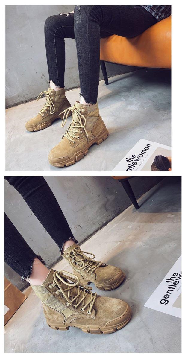 giày boot nữ Quảng Châu