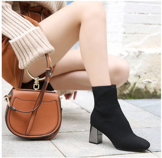 mẫu giày boots nữ Quảng Châu