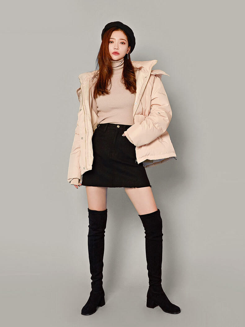 Mẫu giày boot nữ Quảng Châu