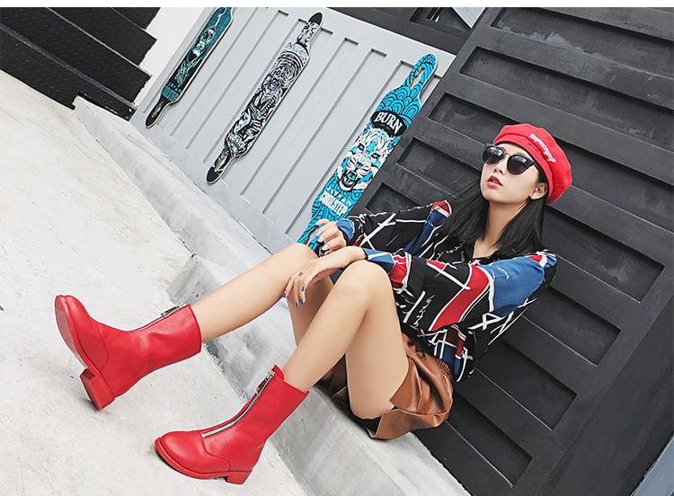 mẫu boot nữ Quảng Châu 2018