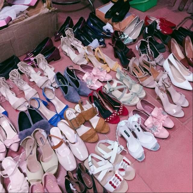 giày dép quảng châu đa dạng, phong phú, giá rẻ