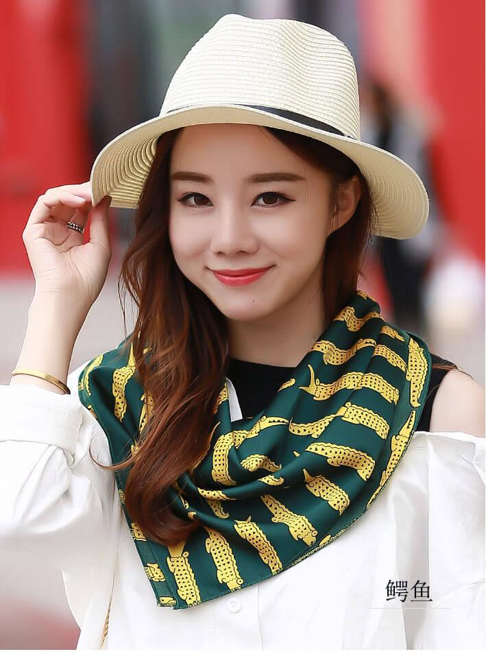 khăn quàng cổ nữ turban vuông