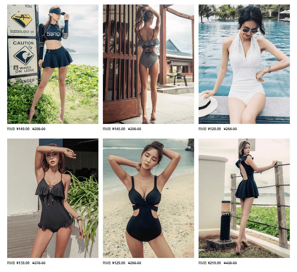 Nguồn hàng Quảng Châu bikini đi biển đẹp giá rẻ