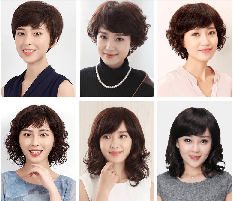 Sỉ tóc giả Quảng Châu phụ nữ trung niên