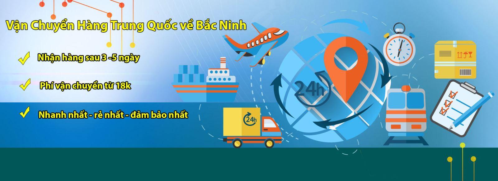 vận chuyển hàng Trung Quốc về Bắc Ninh