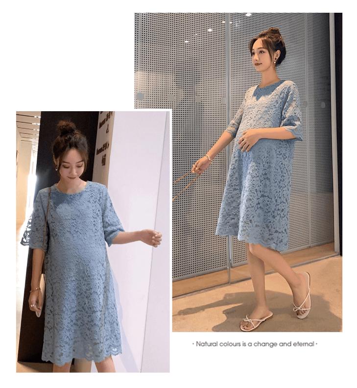 váy bầu mùa hè dành cho dân công sở