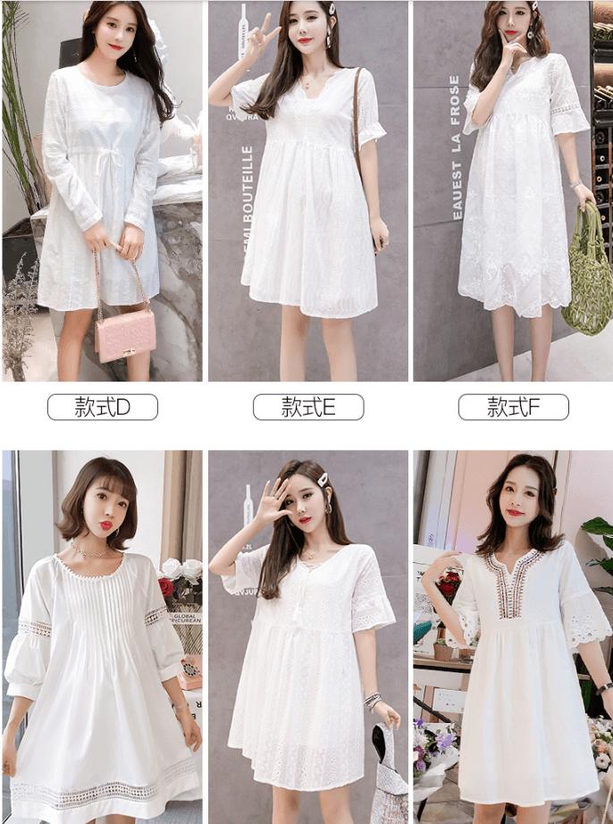 nhập hàng quảng châu giá gốc váy bầu mùa hè hot nhất năm 2019
