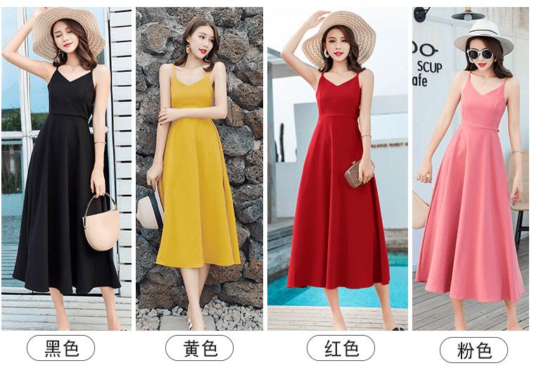những mẫu váy maxi đi biển đẹp 2019