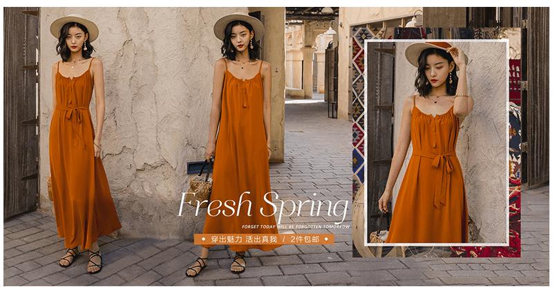 những mẫu váy maxi mặc đi biển đẹp giá rẻ hot nhất năm 2019