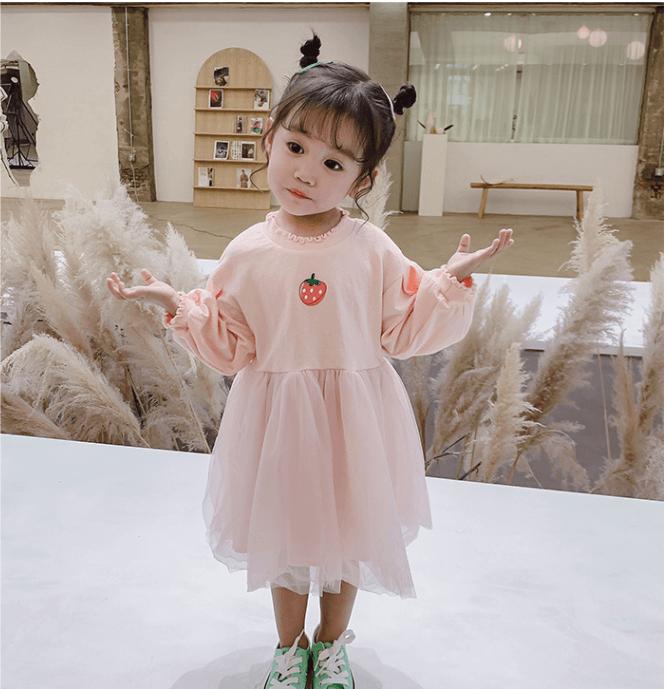 Váy trẻ em nhập khẩu từ Quảng Châu