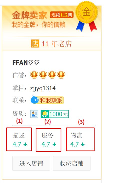 cách đánh giá shop uy tín trên taobao