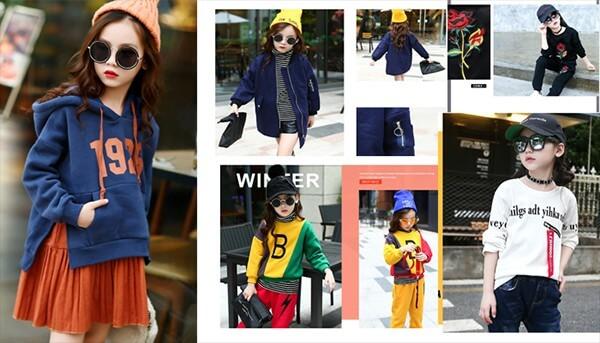 order quần áo trẻ em Quảng Châu giá sỉ
