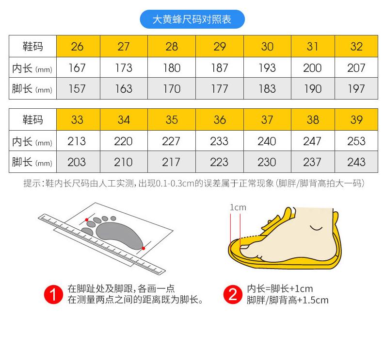 cách chọn size giày phù hợp cho bé
