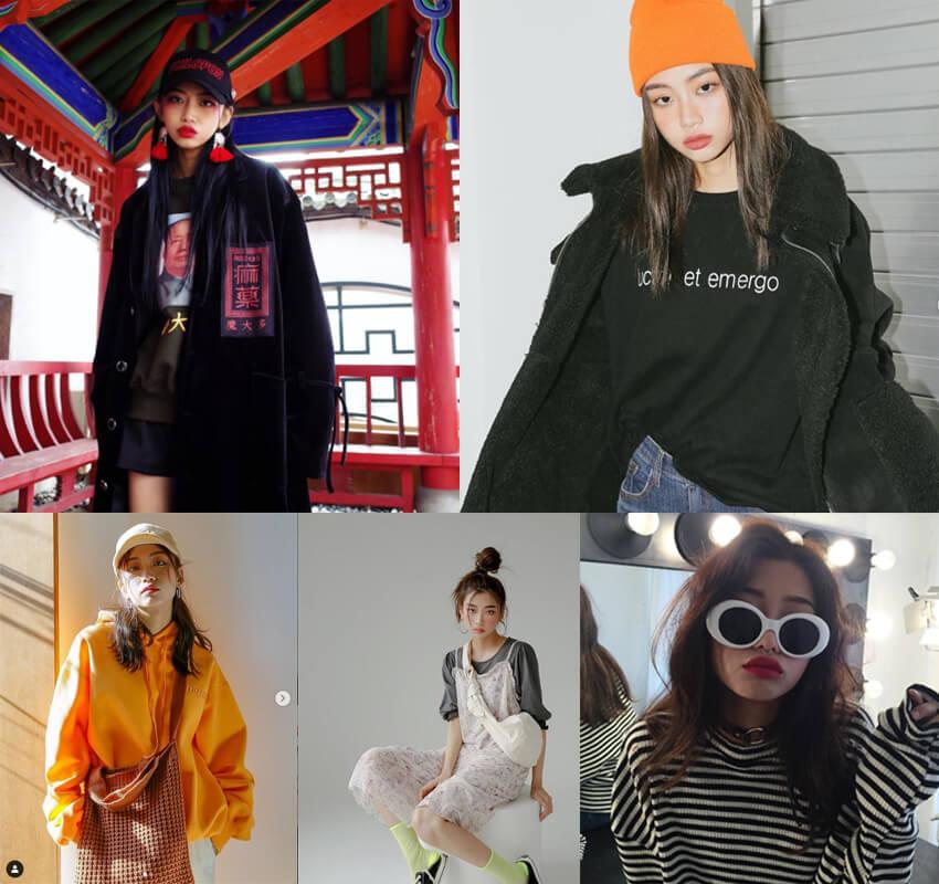 Thời trang ulzzang phong cách cá tính kim jung eun